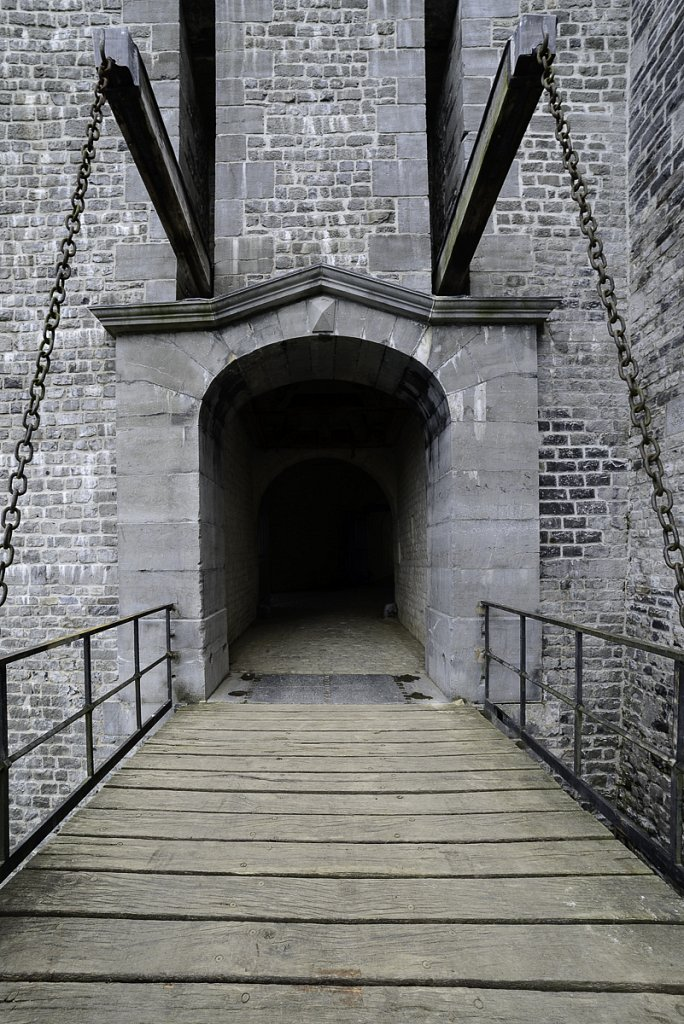 Le pont levis sur Médianne
