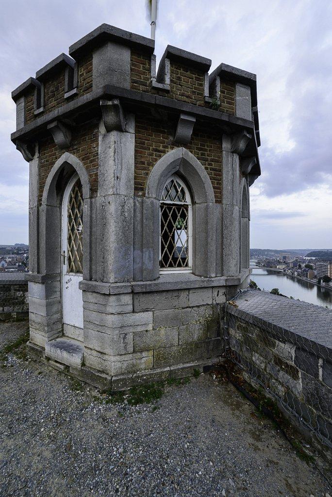 La tour du Guetteur avant rénovations