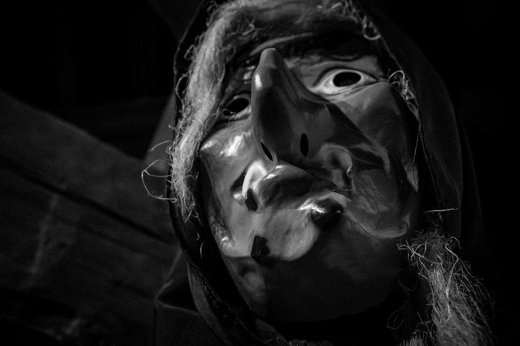 Masque de macrale • Stavelot
